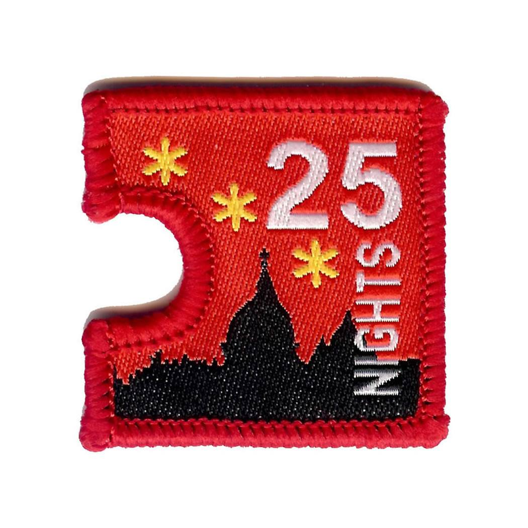 Embroidered - 25 Nights Away
