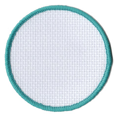 Embroidered - Aida Badge (Circle)