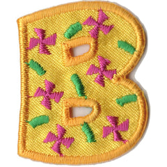 Embroidered - Alphabet Letter B