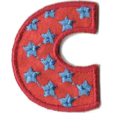 Embroidered - Alphabet Letter C