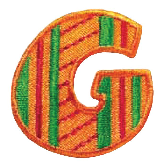 Embroidered - Alphabet Letter G