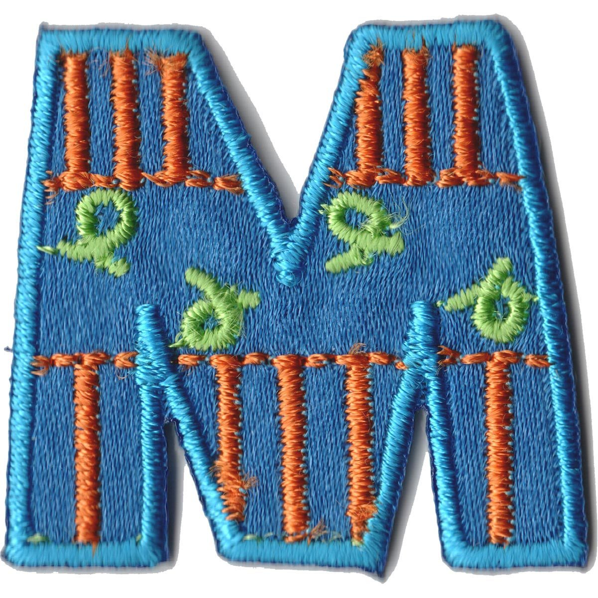 Embroidered - Alphabet Letter M