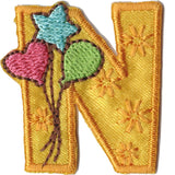 Embroidered - Alphabet Letter N