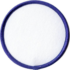 Embroidered - Blank Badge (Navy)