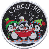 Embroidered - Carolling