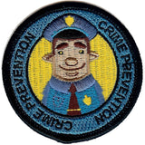 Embroidered - Crime Prevention