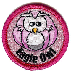 Embroidered - Eagle Owl