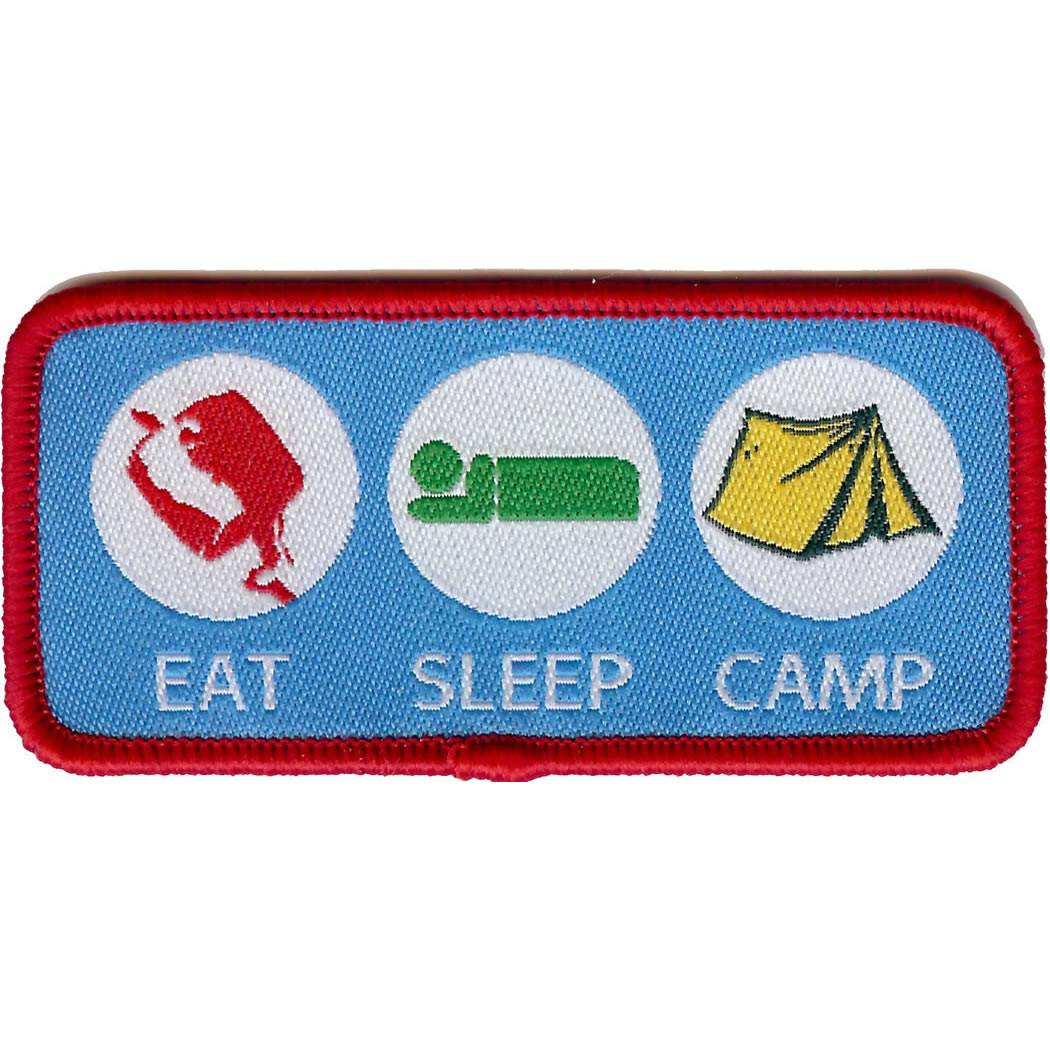 Embroidered - Eat, Sleep, Camp