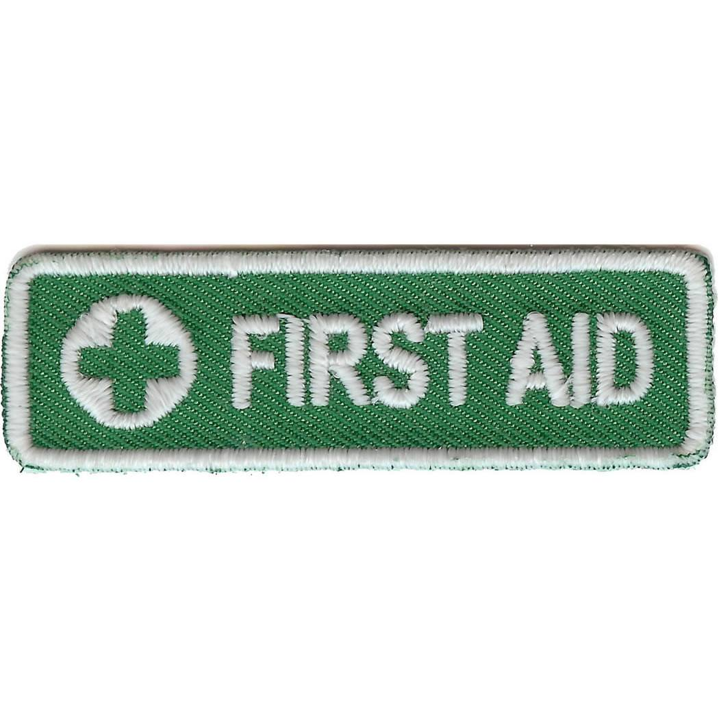 LUMINOUS Glow-in-the-Dark First Aid Embroided Badge
