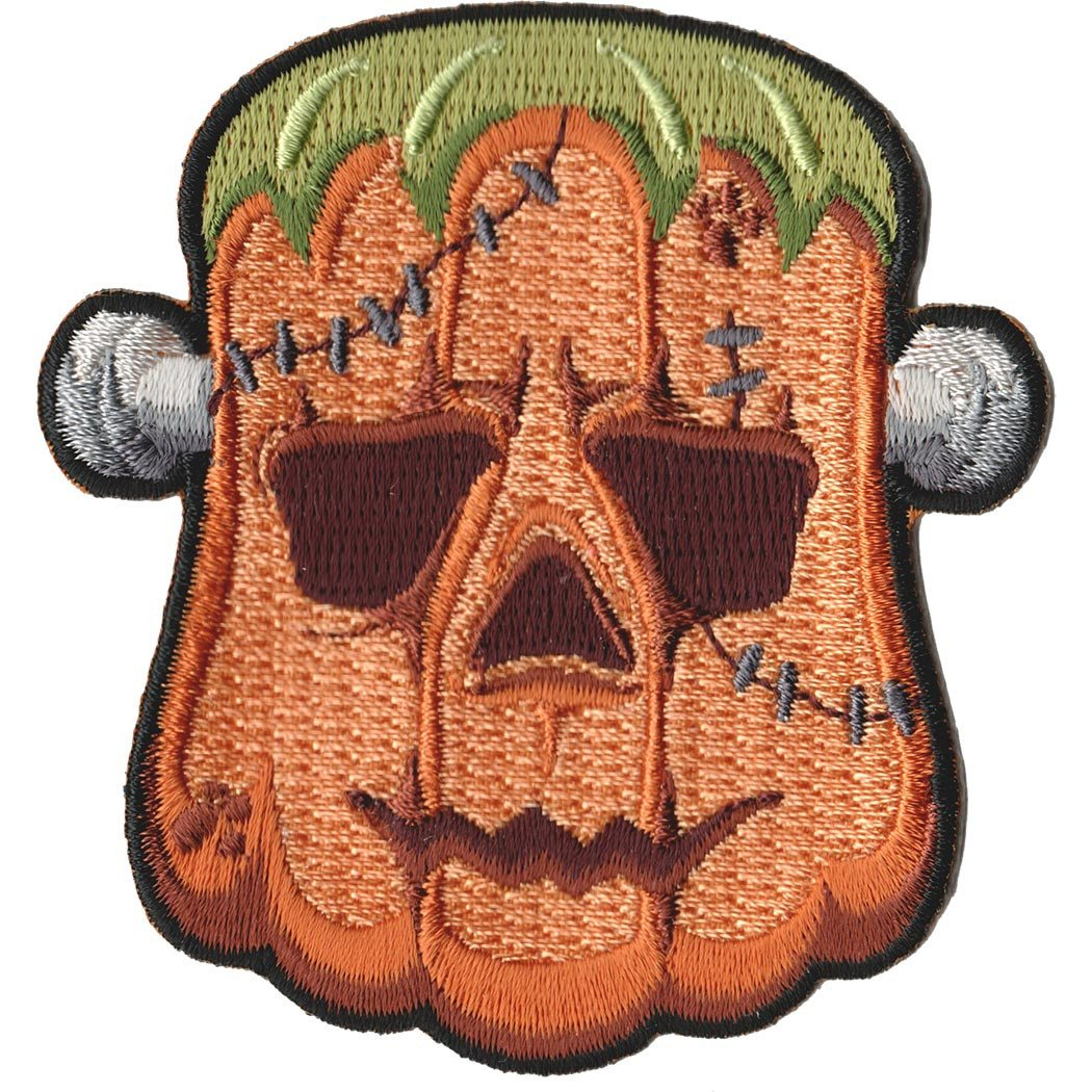 Embroidered - Frankenstein's Pumpkin