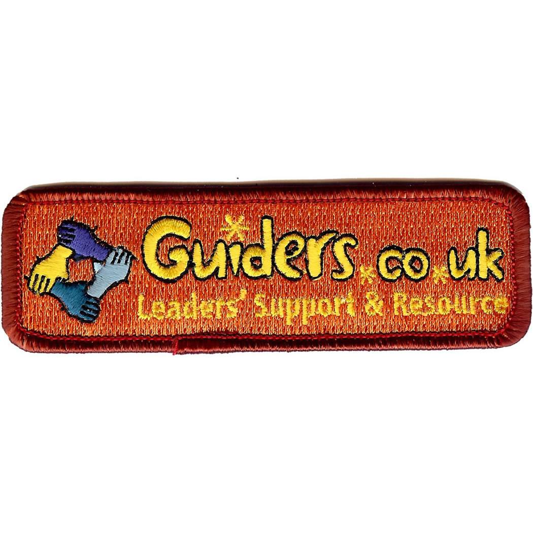 Embroidered - Guiders Forum (Orange)