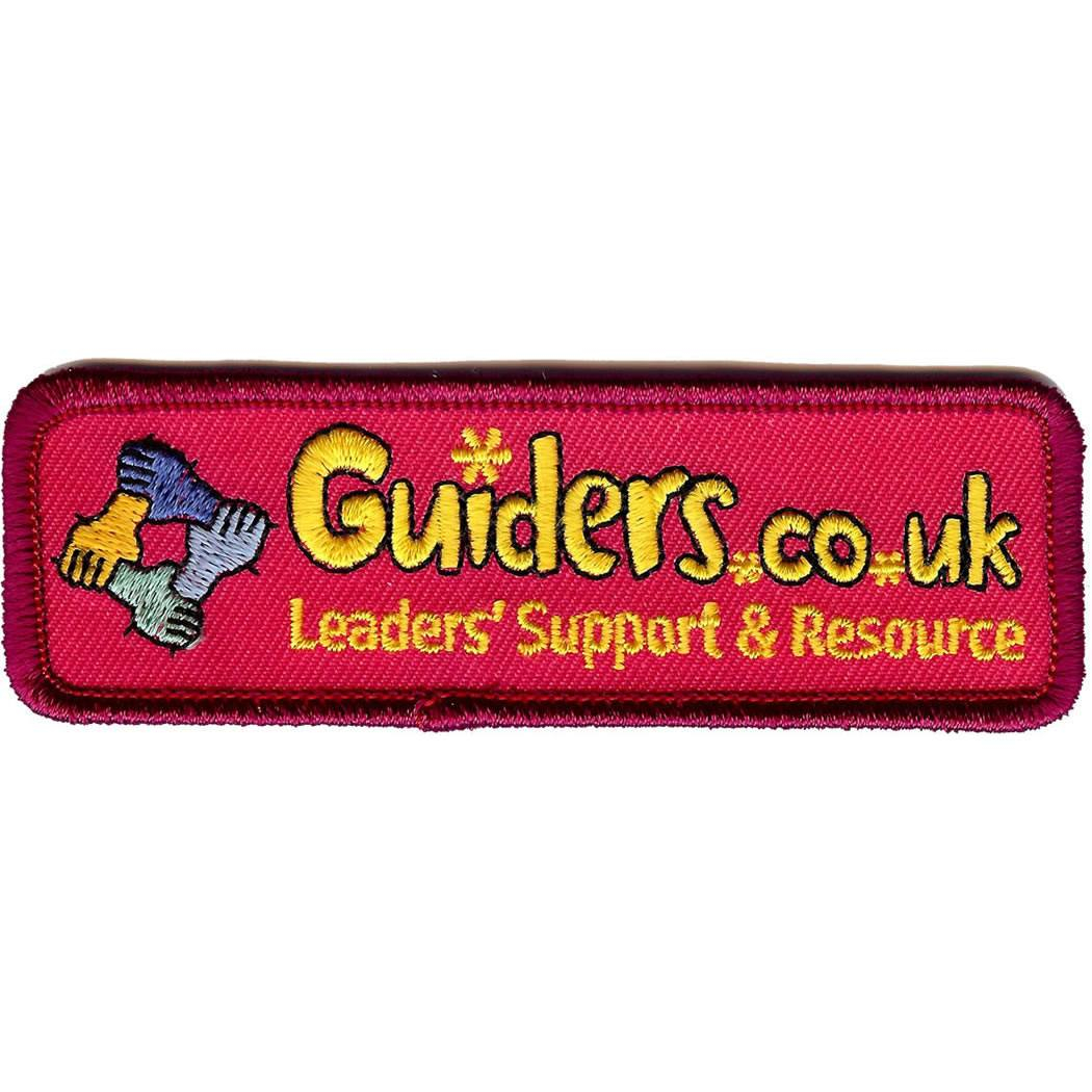 Embroidered - Guiders Forum (Pink)