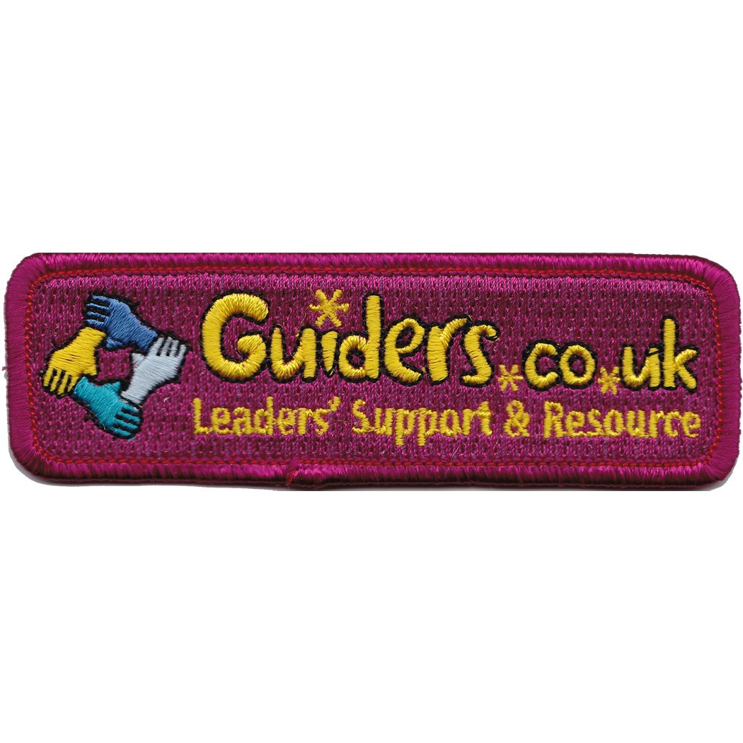 Embroidered - Guiders Forum (Red)