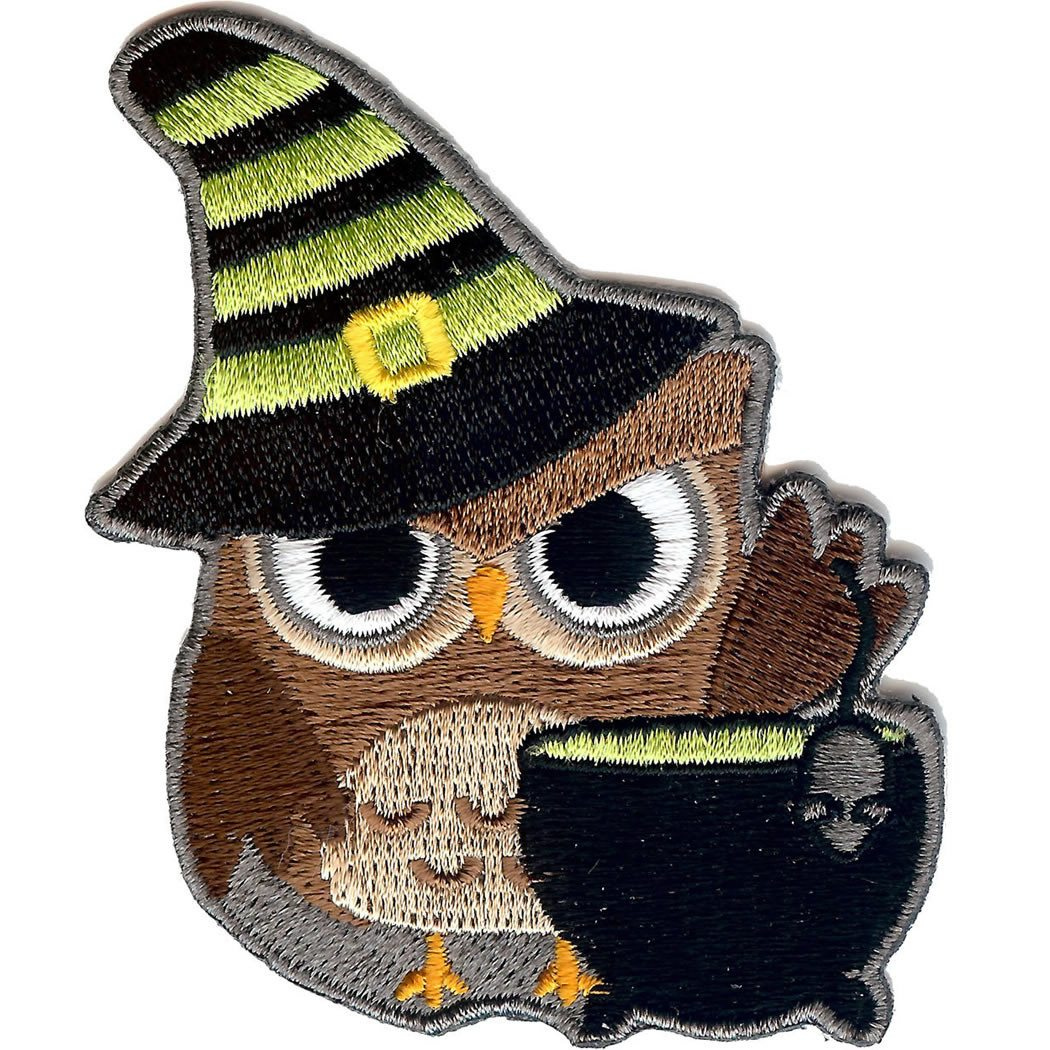 Embroidered - Halloween Owl
