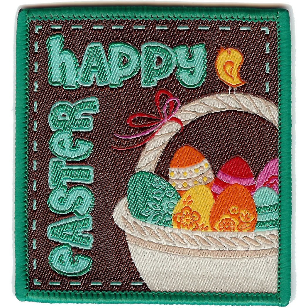 Embroidered - Happy Easter