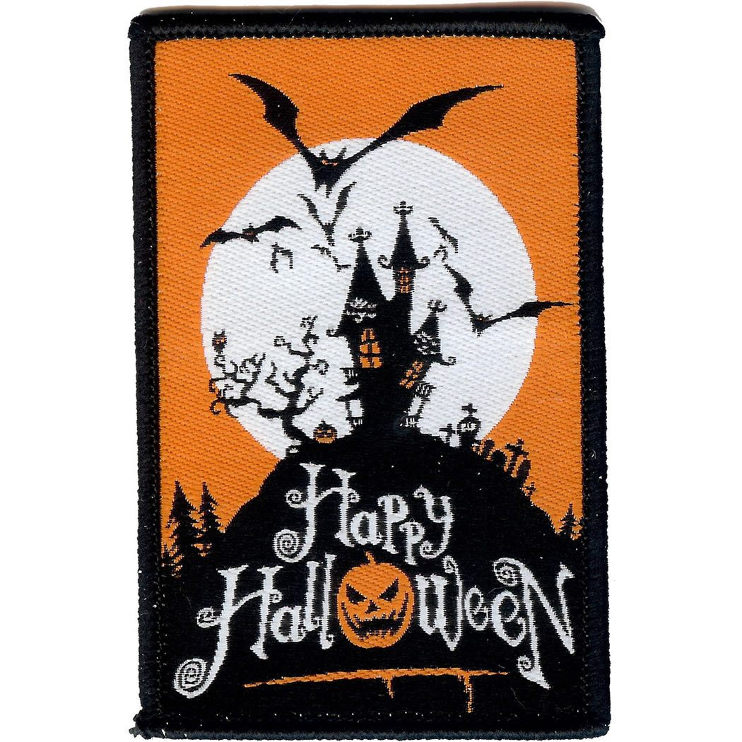 Embroidered - Happy Halloween
