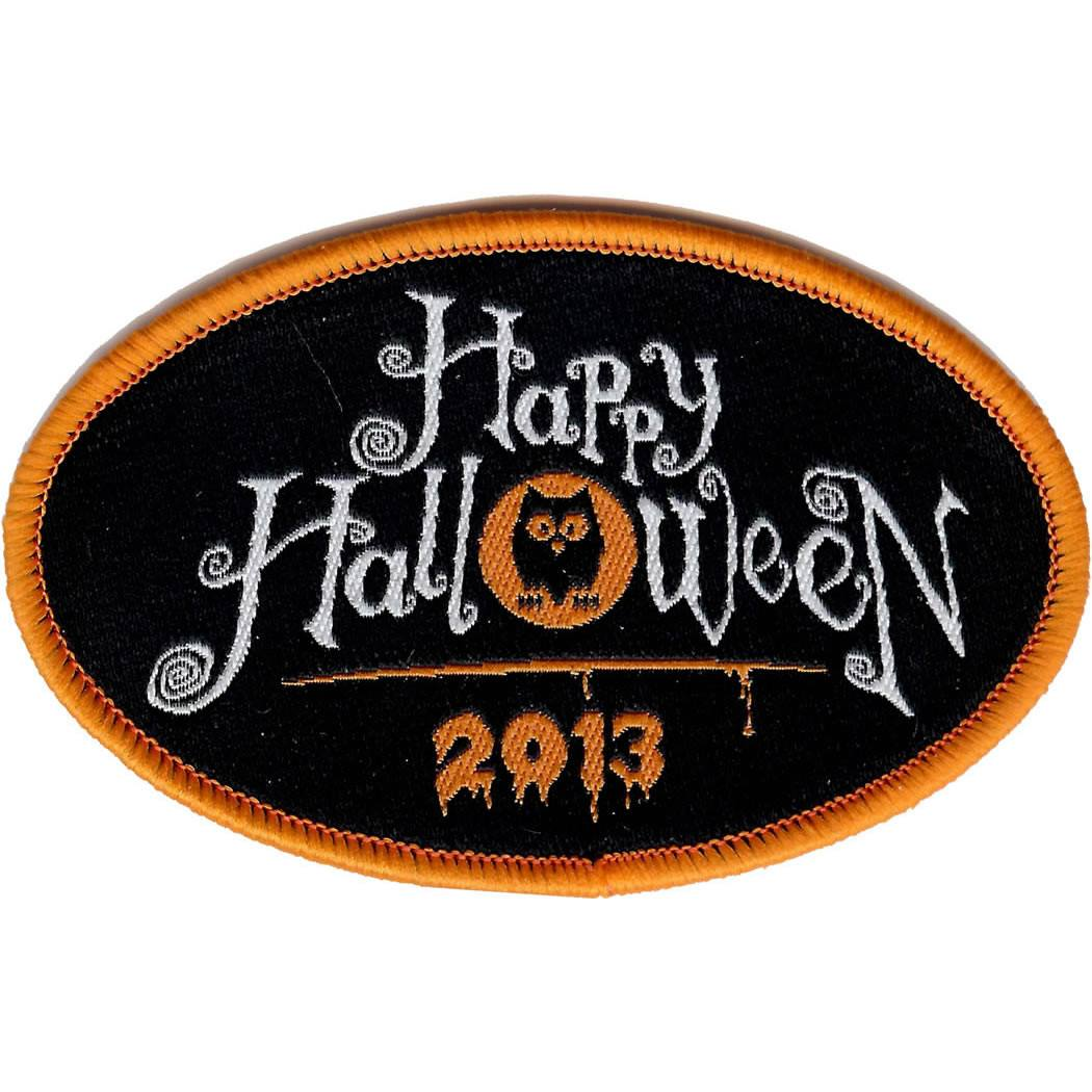 Embroidered - Happy Halloween 2013
