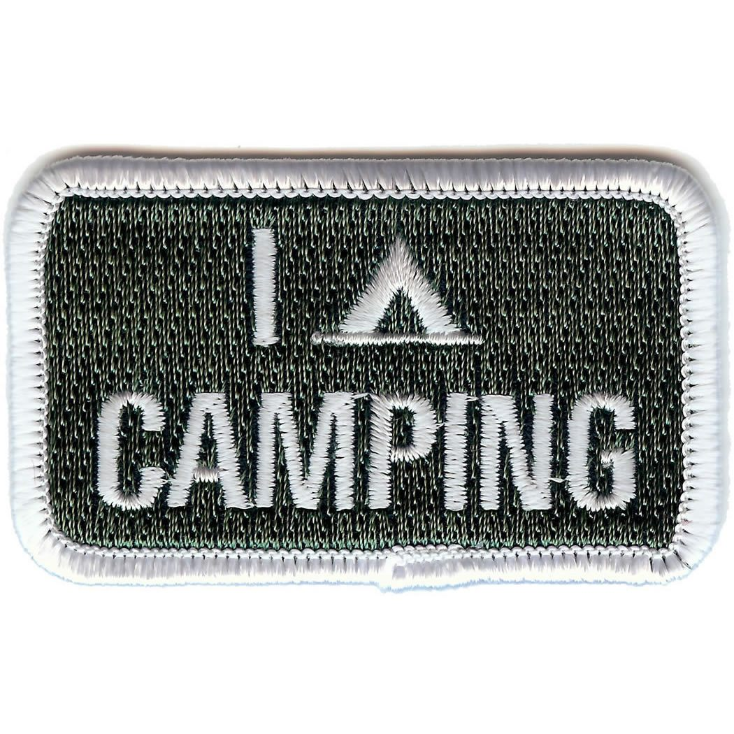 Embroidered - I Love Camping