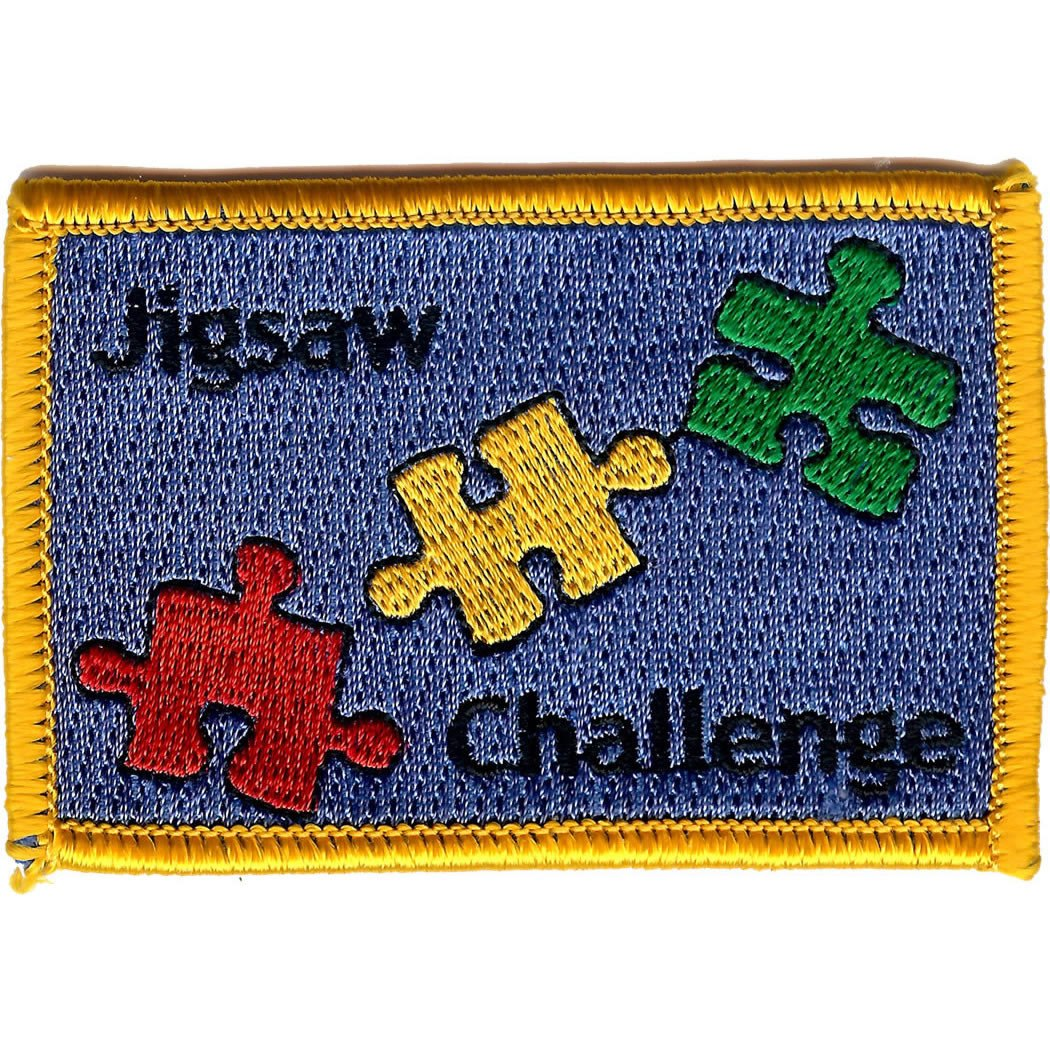 Embroidered - Jigsaw Challenge