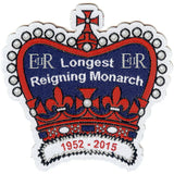 Embroidered - Longest Reigning Monarch