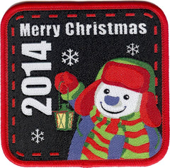 Embroidered - Merry Christmas 2014
