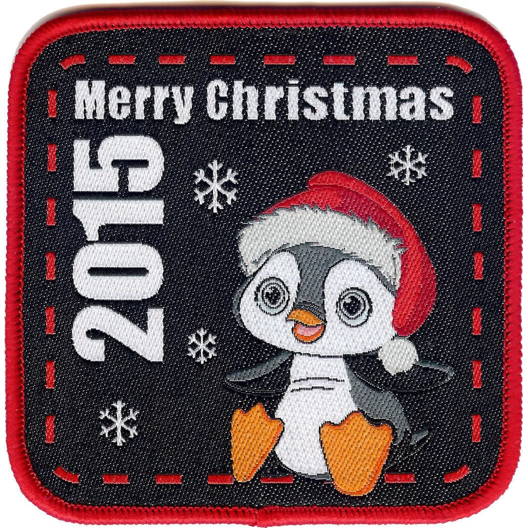 Embroidered - Merry Christmas 2015