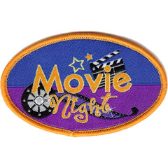 Embroidered - Movie Night