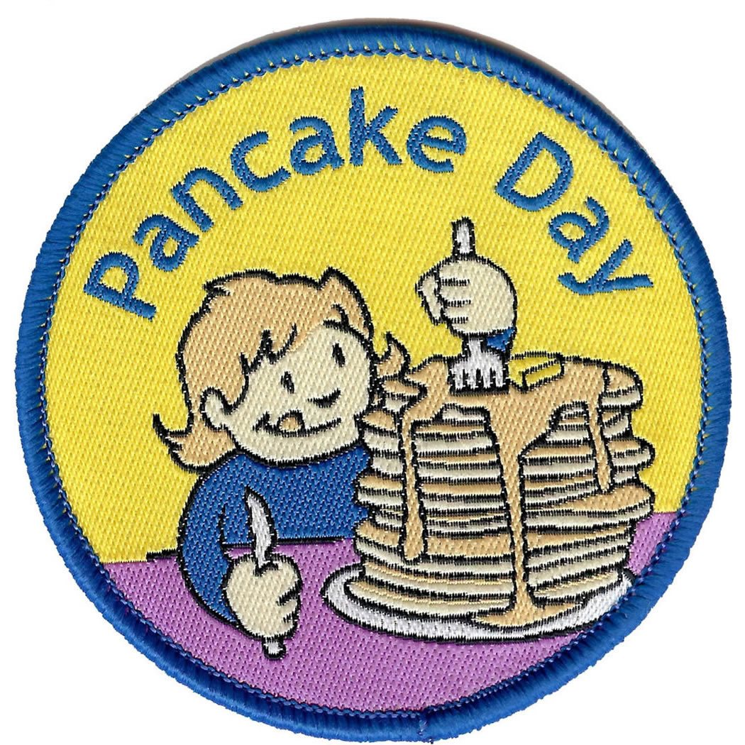Embroidered - Pancake Day