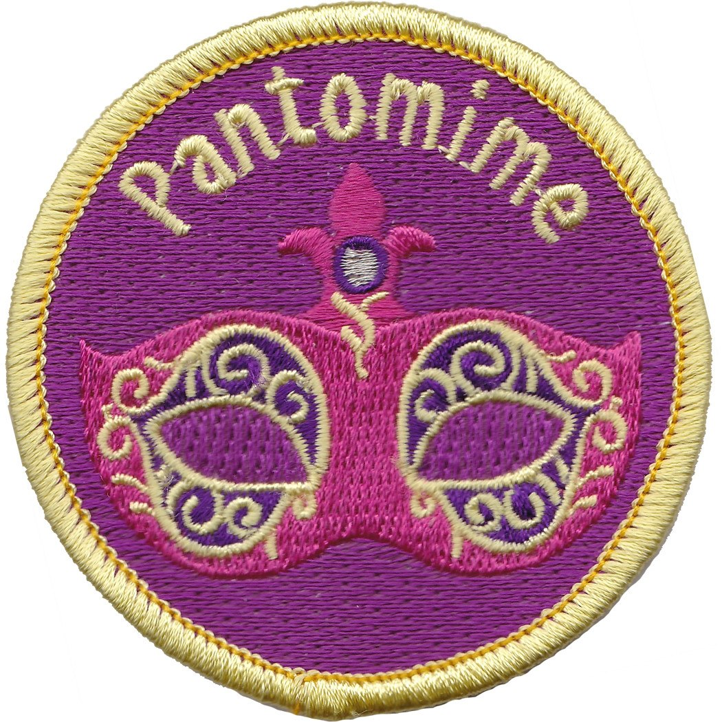 Embroidered - Pantomime