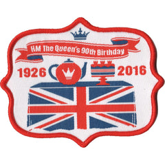 Embroidered - Queen's 90th Celebrations