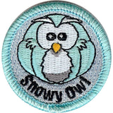 Embroidered - Snowy Owl