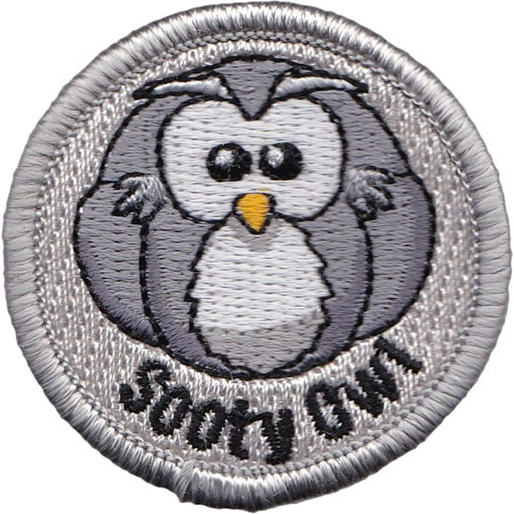 Embroidered - Sooty Owl