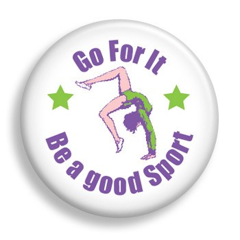 Pin - Be A Good Sport (pin)