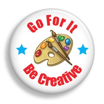 Pin - Be Creative (pin)