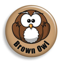 Pin - Brown Owl (pin)