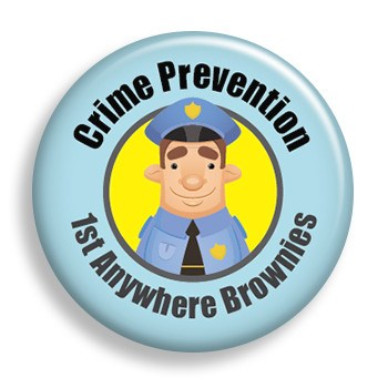 Crime Prevention (pin)