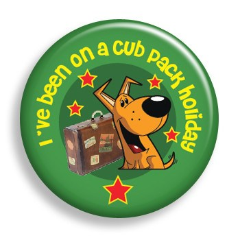 Pin - Cub Holiday (pin)