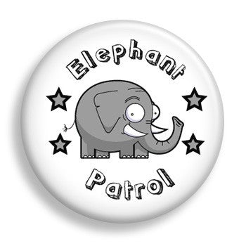 Pin - Elephant Patrol (pin)