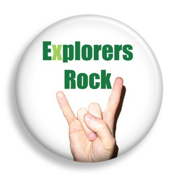 Pin - Explorers Rock (pin)