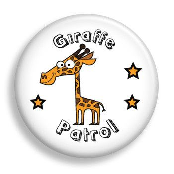 Pin - Giraffe Patrol (pin)