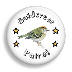 Pin - Goldcrest Patrol (pin)
