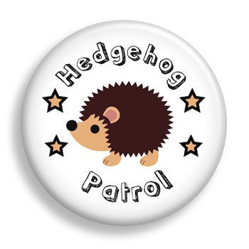 Hedgehog Patrol (pin)