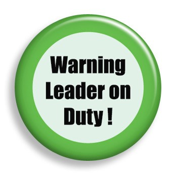 Leader on Duty (pin)