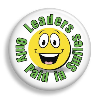 Leader Paid in Smiles (pin)