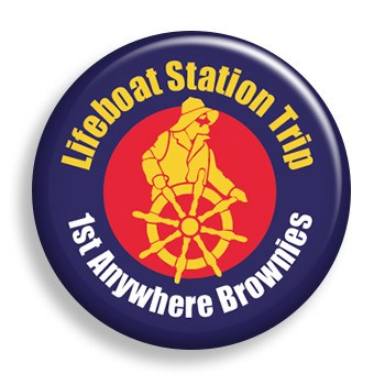Pin - Lifeboat Station (pin)