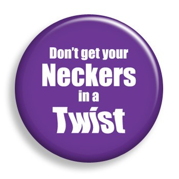 Neckers in a Twist (pin)
