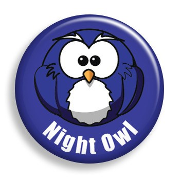 Night Owl (pin)