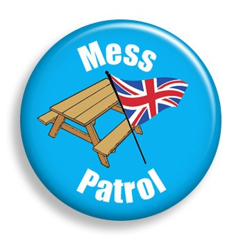 Pin - Patrol - Mess (pin)