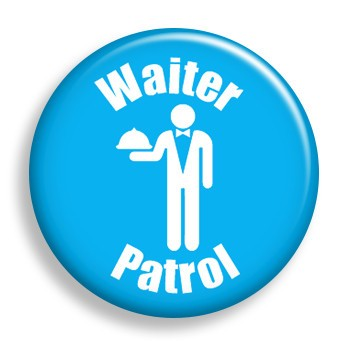 Pin - Patrol - Waiter (pin)