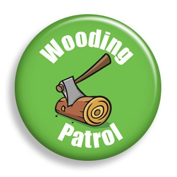 Pin - Patrol - Wooding (pin)